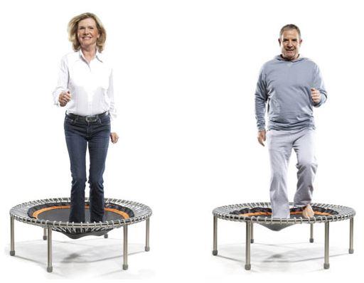Mini-trampoline bellicon pour maintenir tonus et joie de vivre!